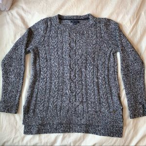 grey Tommy Hilfiger women's sweater